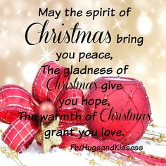 May gods blessings be with you and your family merry christmas the spirit of christmas m4hsunfo
