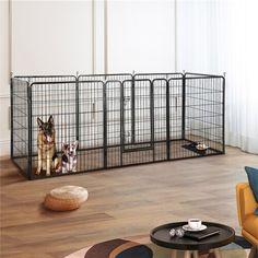 Archie & Oscar™ Archie Slide Aside Pet Crate & Reviews | Wayfair K9 Kennels, Dog Yard, Dog Pen, Dog Playpen, Pet Gate, Pet Furniture, Dog Boarding, Dog Crate, Dog Houses