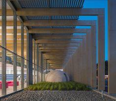 Biblioteca Multimídia de Pontivy (Foto: © Luc Beogly)