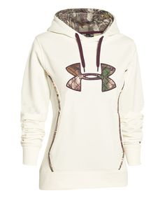 This Under Armour® Ivory Storm Caliber Hoodie by Under Armour® is perfect! #zulilyfinds