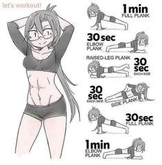 A workout for you to get perfect ABS! Exercises were created to reduce the size of the belly quick and easy! Band Workout, Workout For Flat Stomach, Belly Fat Workout, Stomach Workouts, Tummy Exercises, Flat Abs, Toning Workouts, At Home Workouts, Flat Stomach In 2 Weeks