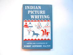 Indian Picture Writing a Vintage Children's by lizandjaybooksnmore, $12.00