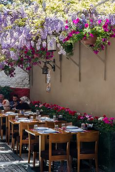 Wisteria - Beylerbeyi Restaurant in Istanbul, Turkey Istanbul Guide, Places To Travel, Places To Visit, Istanbul Travel, Turkey Travel, Wisteria, Peru, Cool Photos, Amazing Photos
