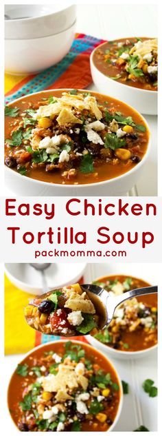 Easy Chicken Tortill