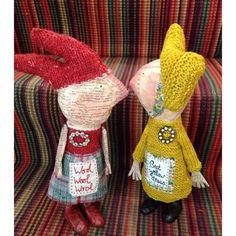 'Wool Wool Wool' & 'Best yellow dress': Julie Arkell