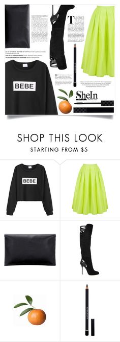 """""""Know Yourself"""" by violet-peach ❤ liked on Polyvore featuring Sergio Rossi, Givenchy, Gucci, Balmain and Kershaw"""