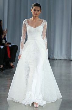 Vestidos de noiva de passerelle