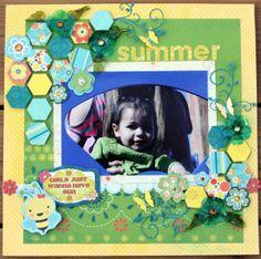 Summer *Bo Bunny DT* - Scrapbook.com