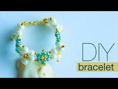 How to make pearl bracelet | DIY pearl bracelet | making easy pearl jewelry making - YouTube
