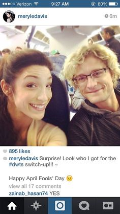 Aw, still love me some Meryl and Charlie!