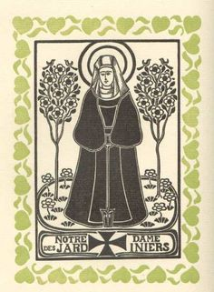 Max Elskamp, Les Sept Notre-Dame des plus beaux métiers, Anvers, A. de Tavemier, 1923