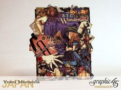 2ATC WonderlandHallowe'en in Wonderland by Yumi MuraeadaProduct by Graphic 45
