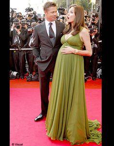 Maternity Wear, Maternity Fashion, Maternity Dresses, Pregnancy Fashion, Jennifer Aniston, Brad Pitt, Angelina Jolie Pregnant, Angilina Jolie, Couples Assortis
