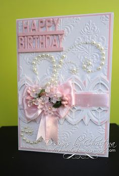 Tuesday Tutorial - Arched Diamonds