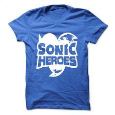 Sonic Heroes T Shirts, Hoodies, Sweatshirts - #polo shirt #t shirt design website. SIMILAR ITEMS => https://www.sunfrog.com/Video-Games/Sonic-Heroes.html?60505