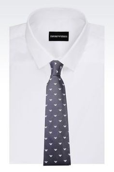 Silk ties for men Emporio Armani, designer ties - Armani.com