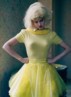 """Like a Doll"" | Model: Lindsey Wixson, Photographer: Tim Walker, Northumberland, UK, Vogue Italia, 2011"