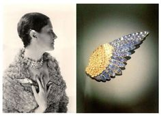 On Jeweled Wings: Daisy Fellowes & A Spectacular Boivin Brooch | Jewels du Jour
