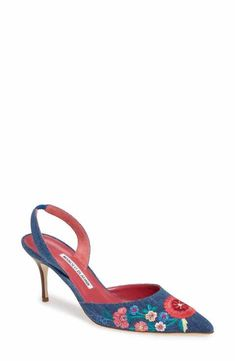 Designer Pumps for Women Sock Shoes, Shoe Boots, Stiletto Heels, High Heels, Manolo Blahnik Heels, Designer Pumps, Slingback Shoes, Shoes Sandals, Unique Shoes