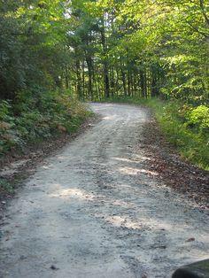 Back road (my favorite kind) in north Georgia.