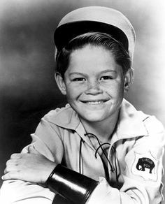 Pre Monkee Mickey Dolenz, then known as Mickey Braddock, as Circus Boy, 1950's TV show