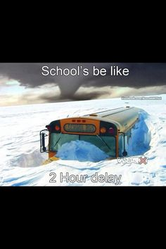 Lol yes! Wisconsin all the way! Especially in my school district. There was once a blizzard that dropped if snow and they temperature was negative and it was only a delay! Minneapolis, Bus Humor, Bus Driver, Great Lakes, Look At You, Laughing So Hard, Just For Laughs, The Funny, Funny Life