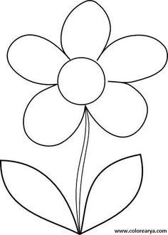 Mi Coleccion De Dibujos Flores Para Pintar Eskola