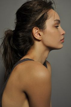 she has a perf side profile