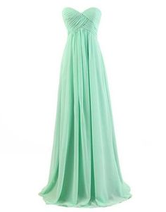 cheap Long mint green very simple and elegant long plus size formal gowns - prom homecoming special occasion 2015 dress
