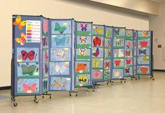 Portable Art Display Panels | Screenflex Room Dividers