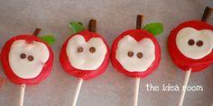 How to :: apple oreo pop