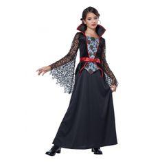 Girls Countess Bloodthorne Vampiress Costume  #Bloodthorne #Costume #Countess #Girls #GirlsHalloweenCostumes #Vampiress Halloween Spirit