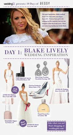Blake Lively Wedding Inspiration