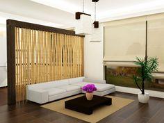 Tips de decoración con cañas de bambú