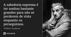 O reputado escritor norte-americano William Faulkner começou o seu trabalho na poesia mas foram os romances que lhe trouxeram reconhecimento. Com uma lista de obras que incluem The Sound and the Fury ou Sanctuary o autor conquistou os maiores prémios literários gravando para sempre o seu nome na história da literatura recebendo o Prémio Nobel da Literatura e 2 Pulitzers.  Descubra a biografia completa de William Faulkner no E-Book GRATUITO que pode descarregar usando o link da bio…