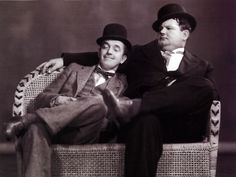 Laurel and Hardy...love these guys