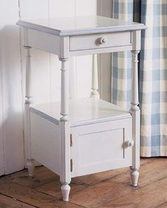 Classic Bedside Table with Cupboard