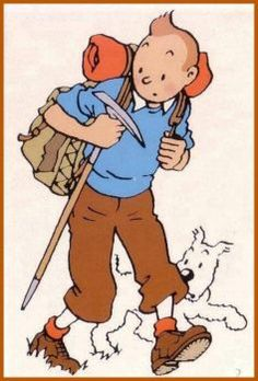 Tintin Mountain Climbing (150 pieces)