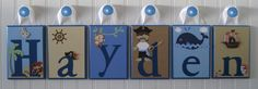 Personalized Boutique Custom Baby Child Boys by OhMyButtonsAndBows, $16.00