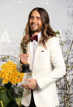 Pin for Later: The Year's Hottest Pictures of Hot Guys Jared Leto