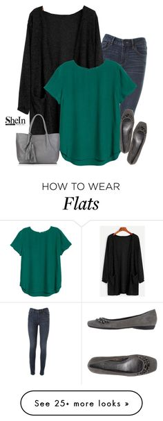"""Shein cardigan"" by tawnee-tnt on Polyvore featuring Marc by Marc Jacobs, Anne Klein and Nadia Minkoff"