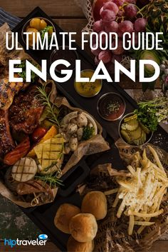 The ultimate guide to eating your way through England. The best British food experiences in the United Kingdom stretching from London to Cornwall to Oxfordshire and beyond. Food travel at its finest. | Blog by HipTraveler: Bookable Travel Stories from the World's Top Travelers