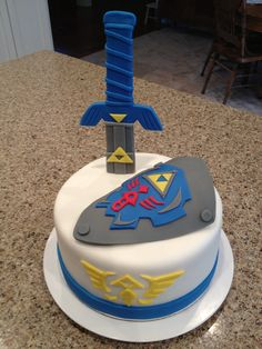 Legend of Zelda Cake... Boyfriend's birthday maybe?