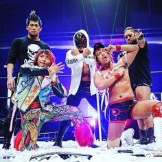 Evil, Bushi, Sanada, Hiromu y Naito. Nosotros Los Ingobernables de Japon!!!