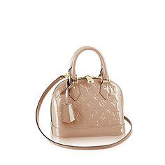 Alma BB Monogram Vernis Leather - Handbags | LOUIS VUITTON