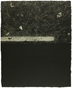 Tadayoshi Nakabayashi Dislocation 84 - Earth I (right) 1984 Etching, aquatint