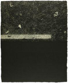 Tadayoshi Nakabayashi Dislocation 84 - Earth I (right) 1984 Etching, aquatint