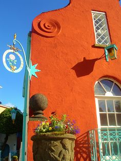 Portmeirion - first visited with a friend, then had to go back with my husband - absolutely  stunning and strange and wonderful x