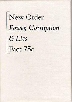 New Order - Power, Corruption & Lies (Cassette, Album) at Discogs