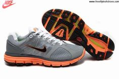 cf6456c792ad Fashion Mens Nike Lunarglide 2 Gray Orange Shoes Sports Shoes Store Running  Shoes Nike